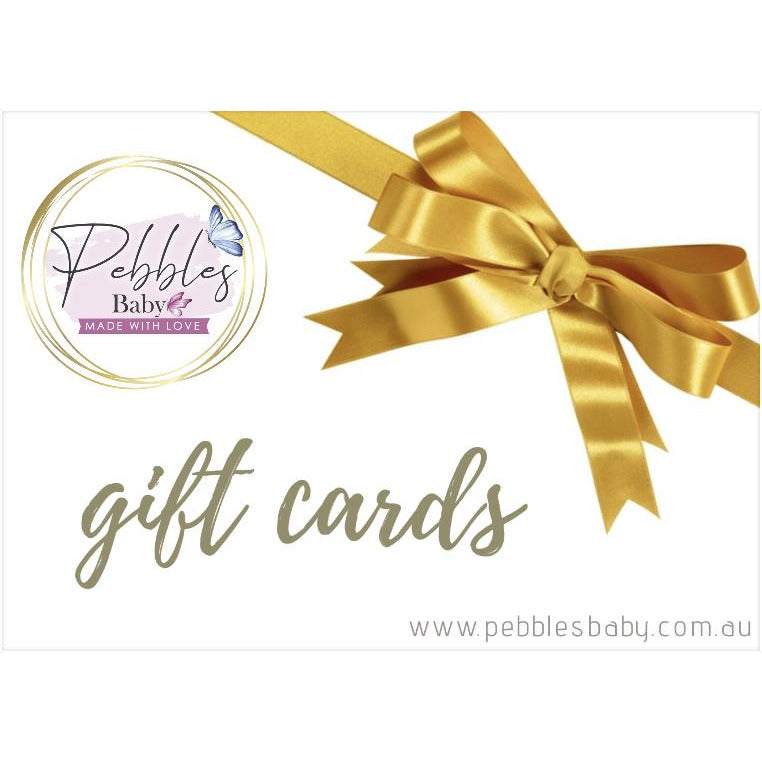 Pebbles Baby Gift Card