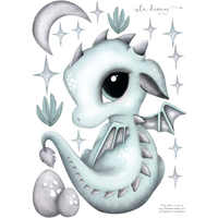 Dex the Dragon - Wall decals