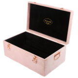 Storage case - Velvet luxe, dusty pink