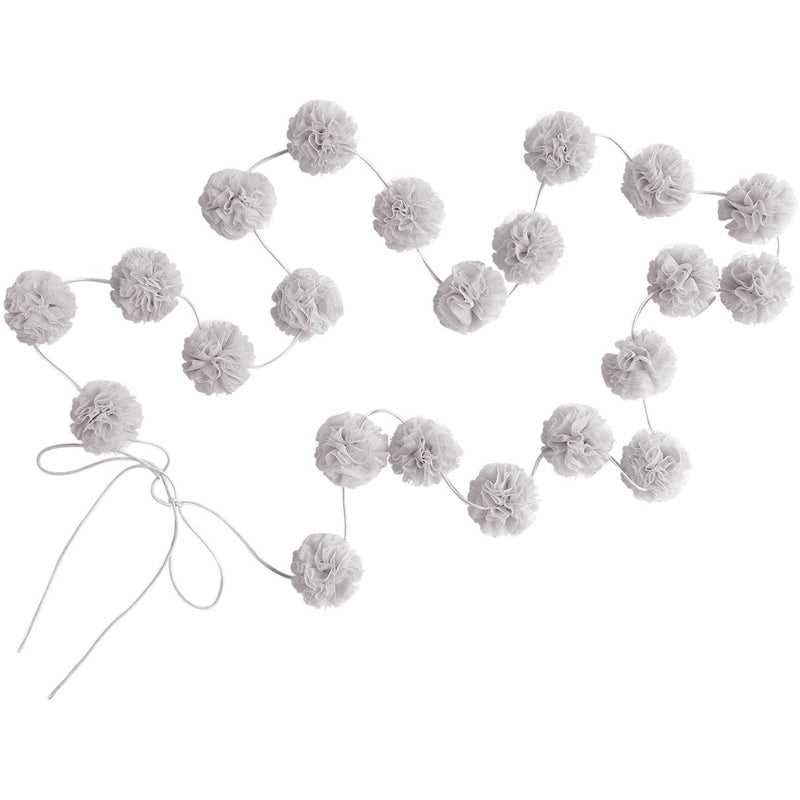 Mini pom garlands
