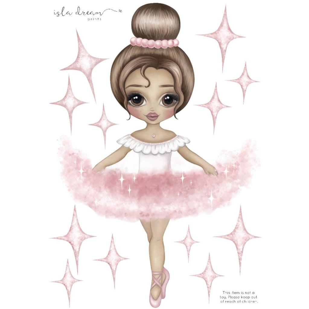 Ariana the Ballerina - Wall decals