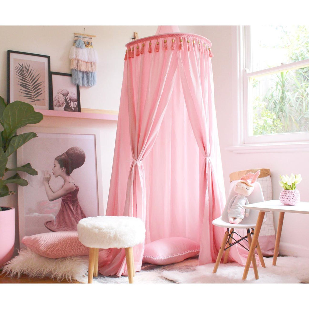Round canopy - Pink