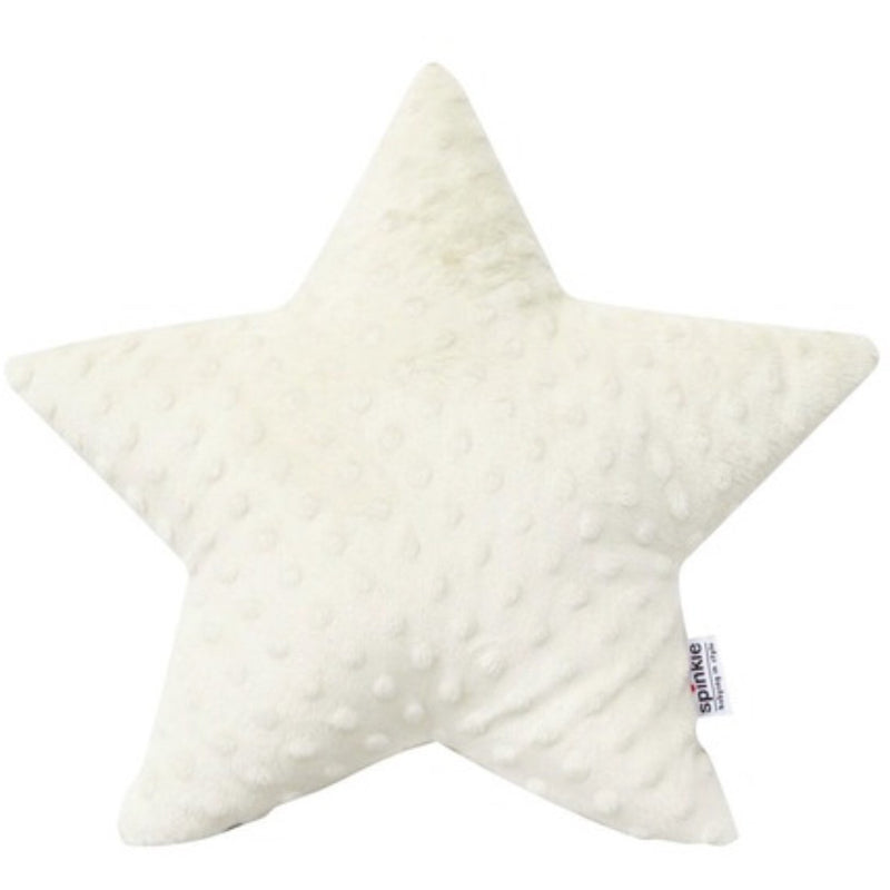 Star pillow minky