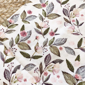 Activity playmat - floral leaves