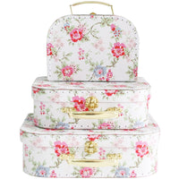 Suitcase set - Cottage Rose
