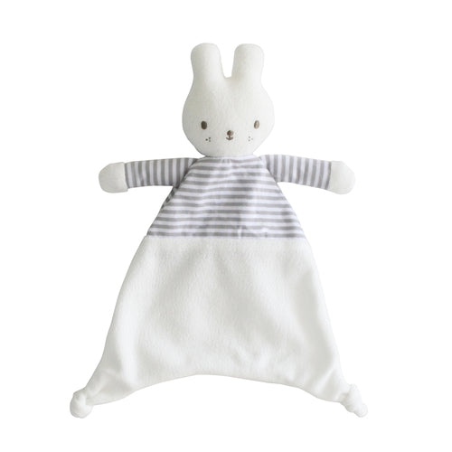 Copy of Baby Bunny comforter - Grey stripe
