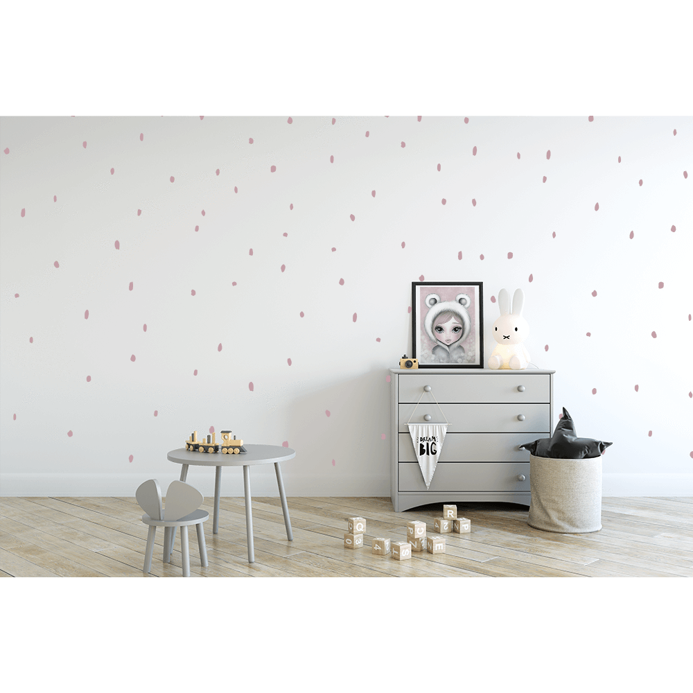 Animal spots - wall decals A4