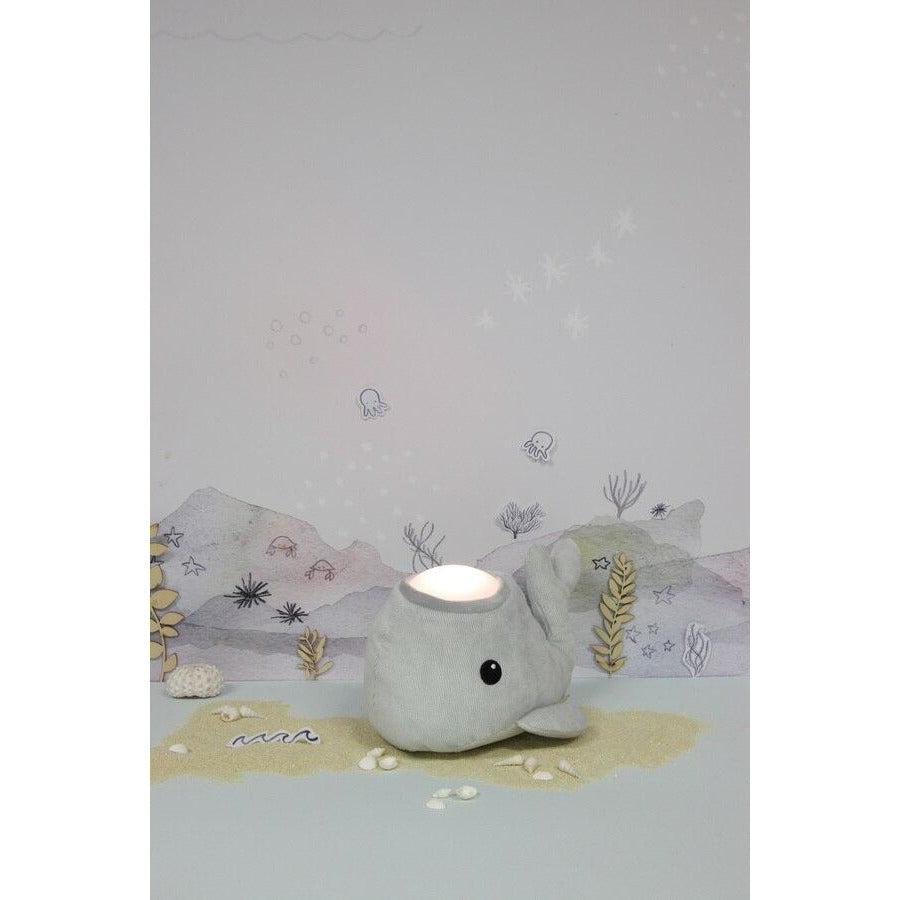 Samson the whale hug tap light - medium