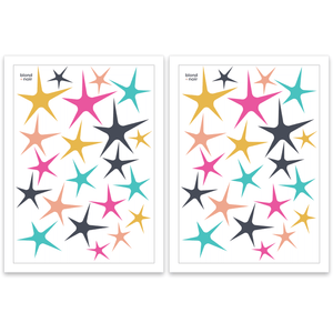 Sweet stars  - wall decals A3