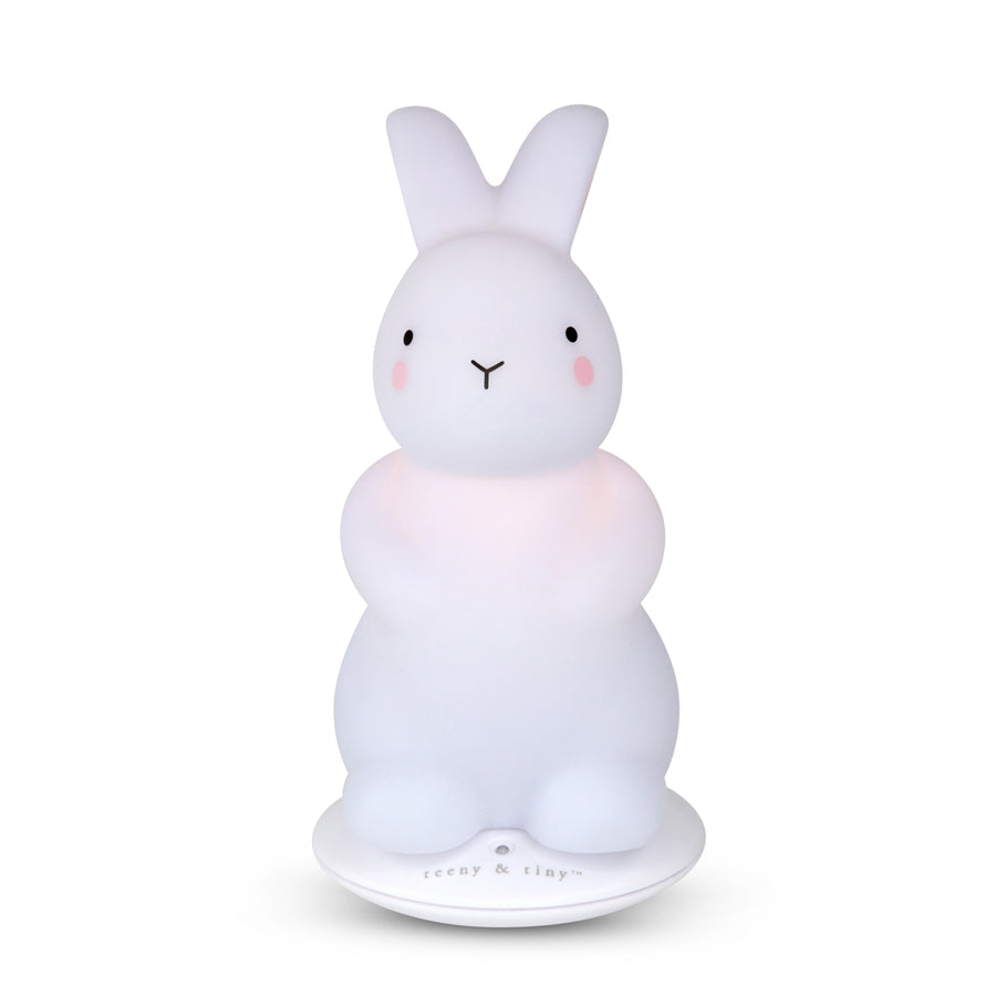 Bunny rechargeable light - small, white
