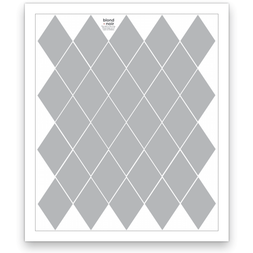 Diamond - wall decals, 5 sheets pack