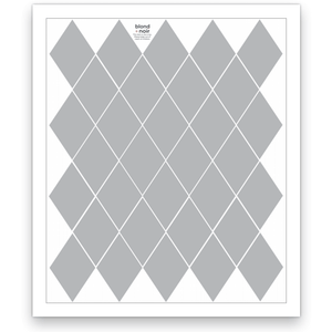 Diamond - wall decals, 10 sheets pack