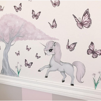 Rose & cherry blossom tree - Wall decals
