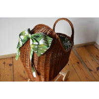 Wicker pram - Natural