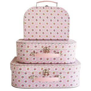 Suitcase set - Floral Medallion