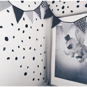 Black Spots - wall decals IN STOCK