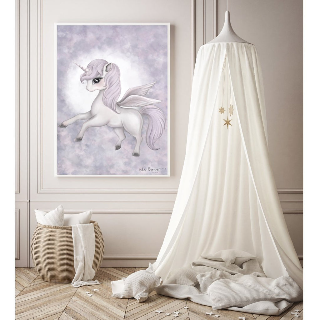 Wall Print - Scarlett the Pegasus A3