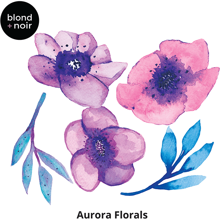 Aurora minis - wall decals