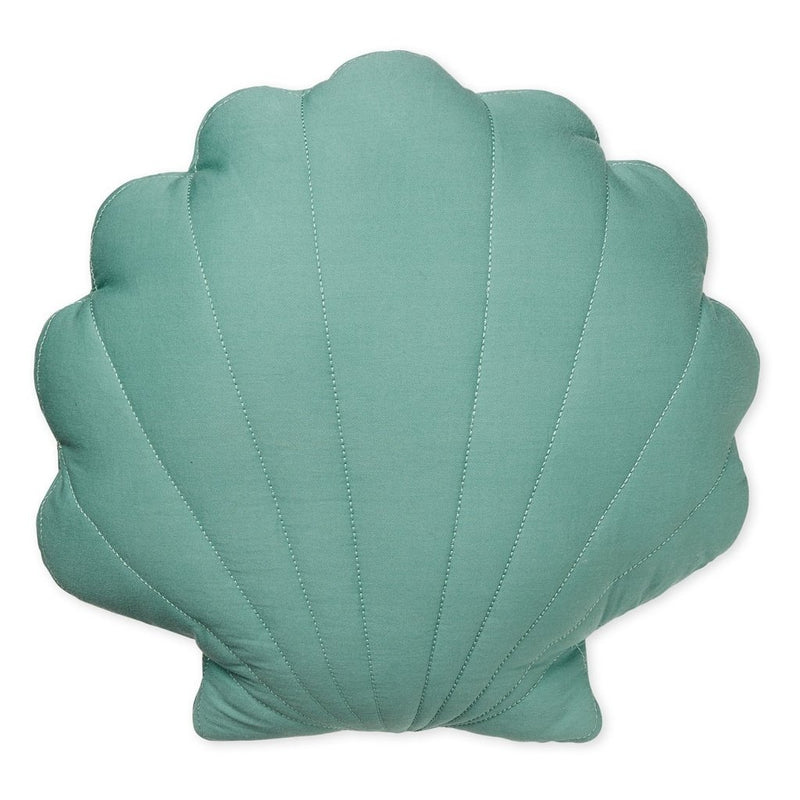 Cam Cam Sea shell cushion - canal green