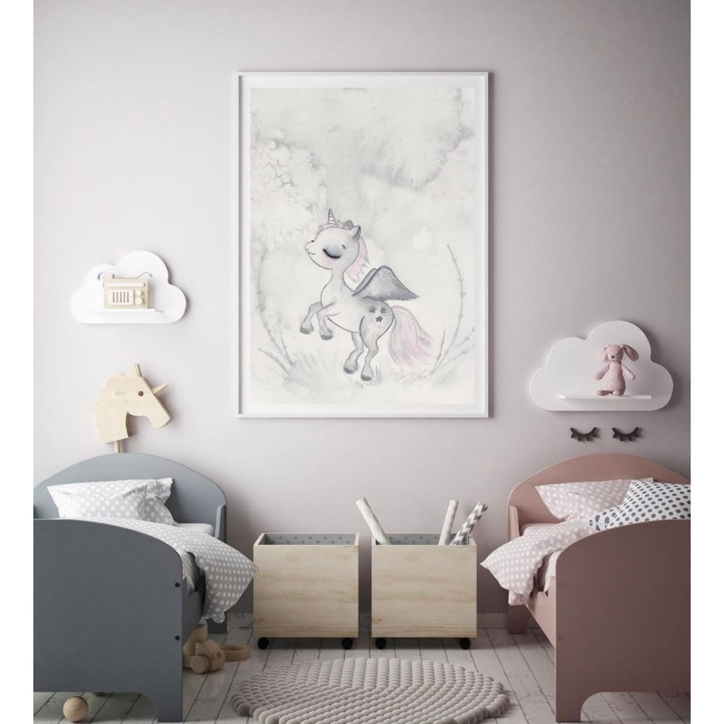 Wall Print - Rana, the enchanted Unicorn