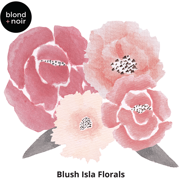 Isla Floral minis - wall decals