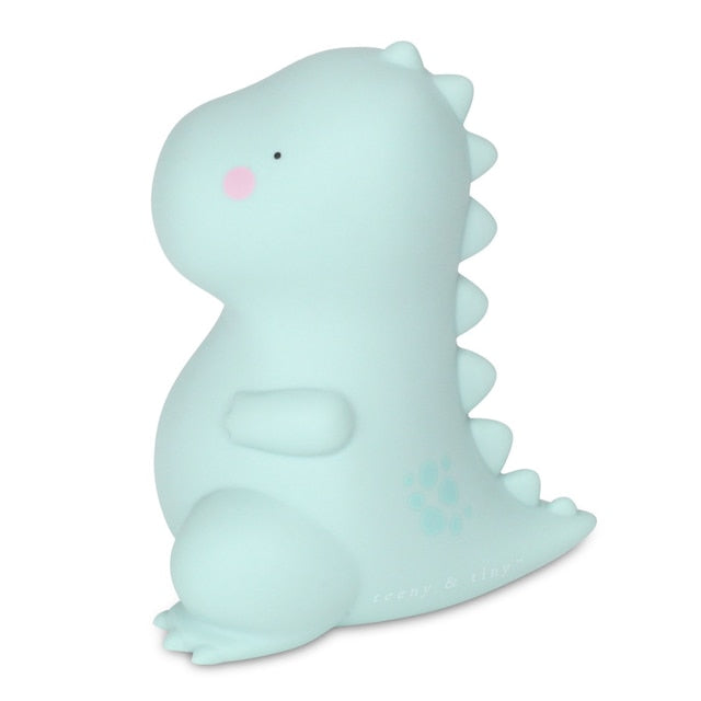 T-rex little light - small, sage green