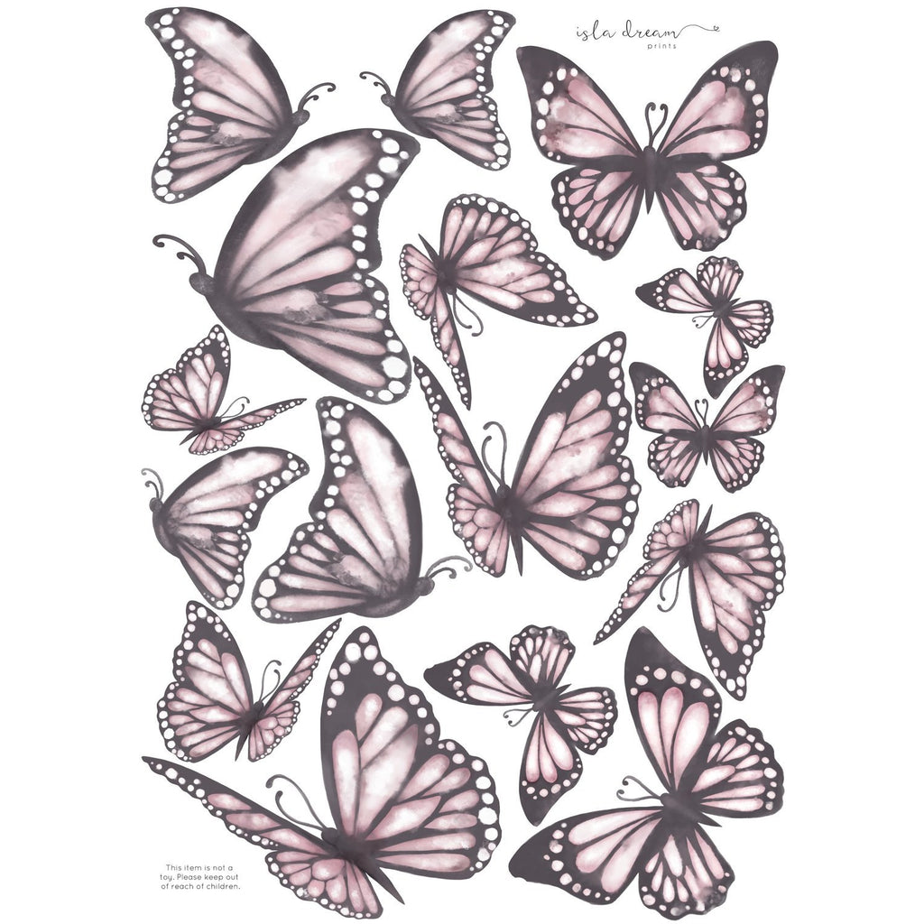 Butterflies - wall decals
