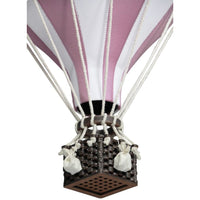 Decorative Hot Air Balloon, large - Dusty pink