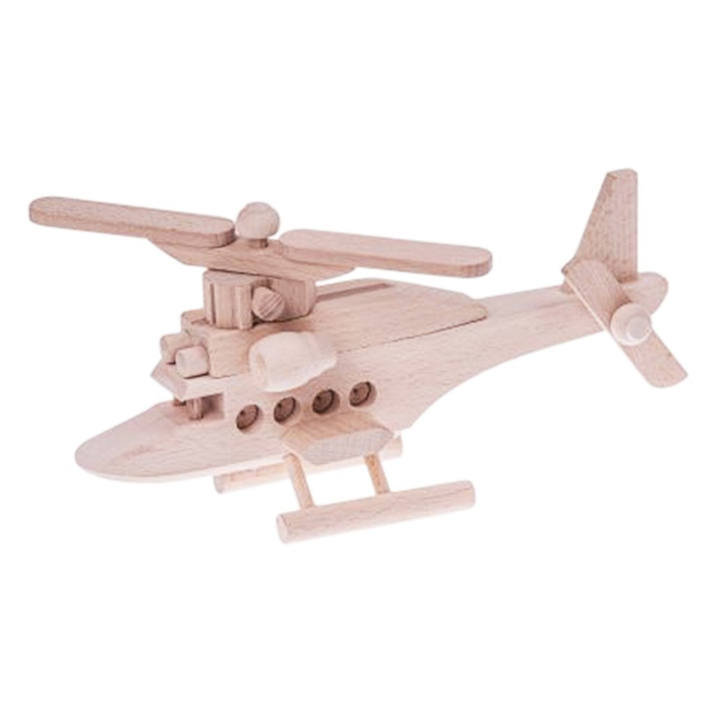 Wooden helicopter - Chase