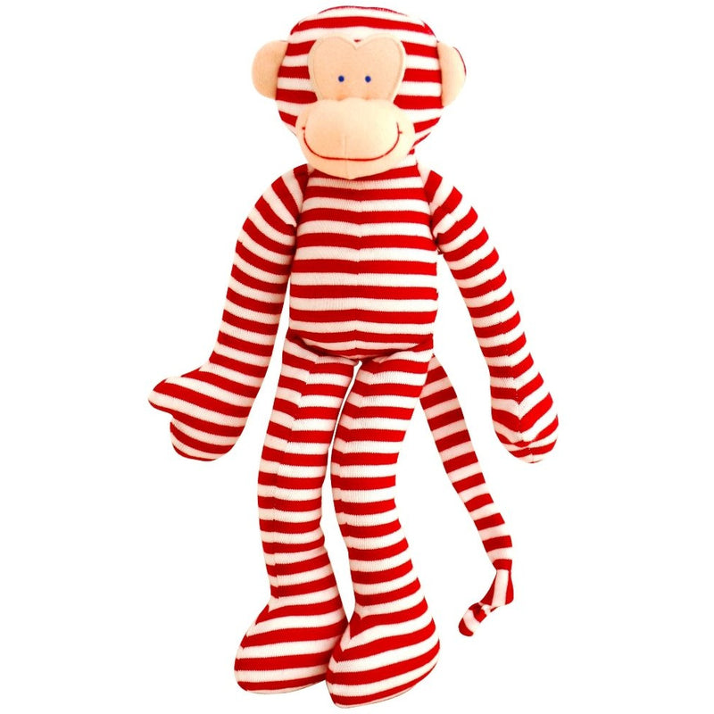 Musical Monkey - red stripes