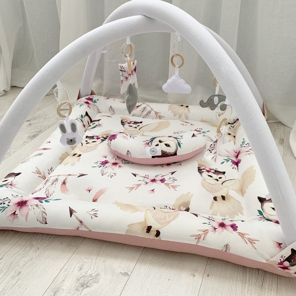 Activity playmat - boho owl