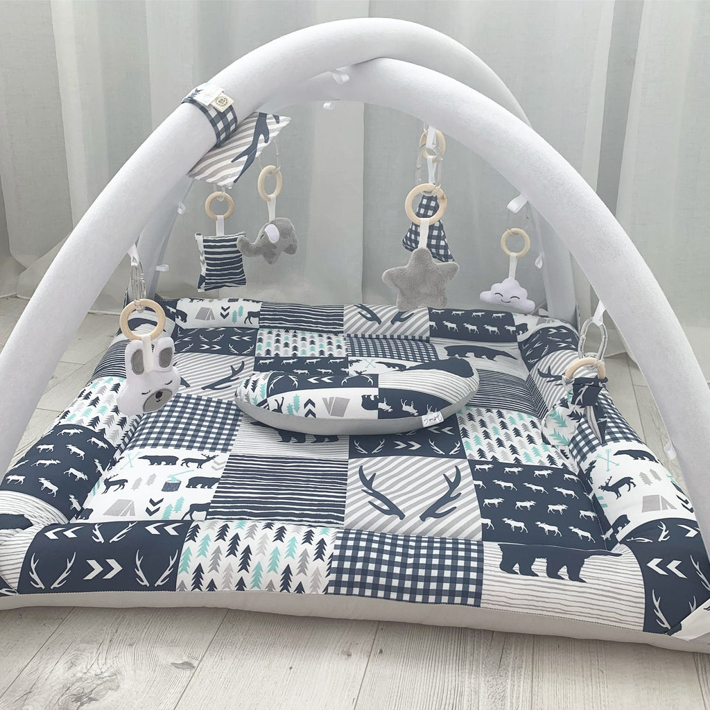 Activity playmat - navy bears