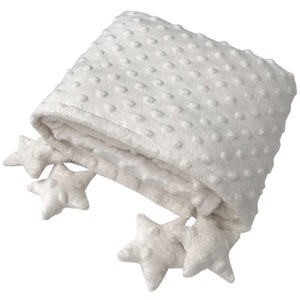 Counting stars blankie ivory