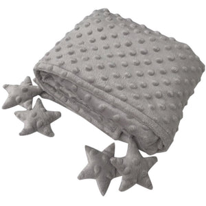 Counting stars blankie grey