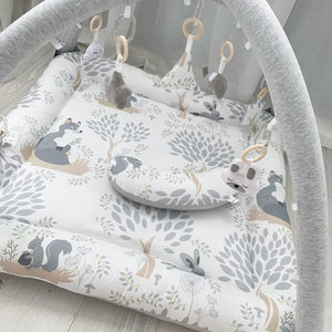 Activity playmat - squirrels at play