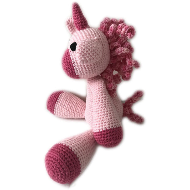 Crochet Unicorns rattle - Coco & Mary