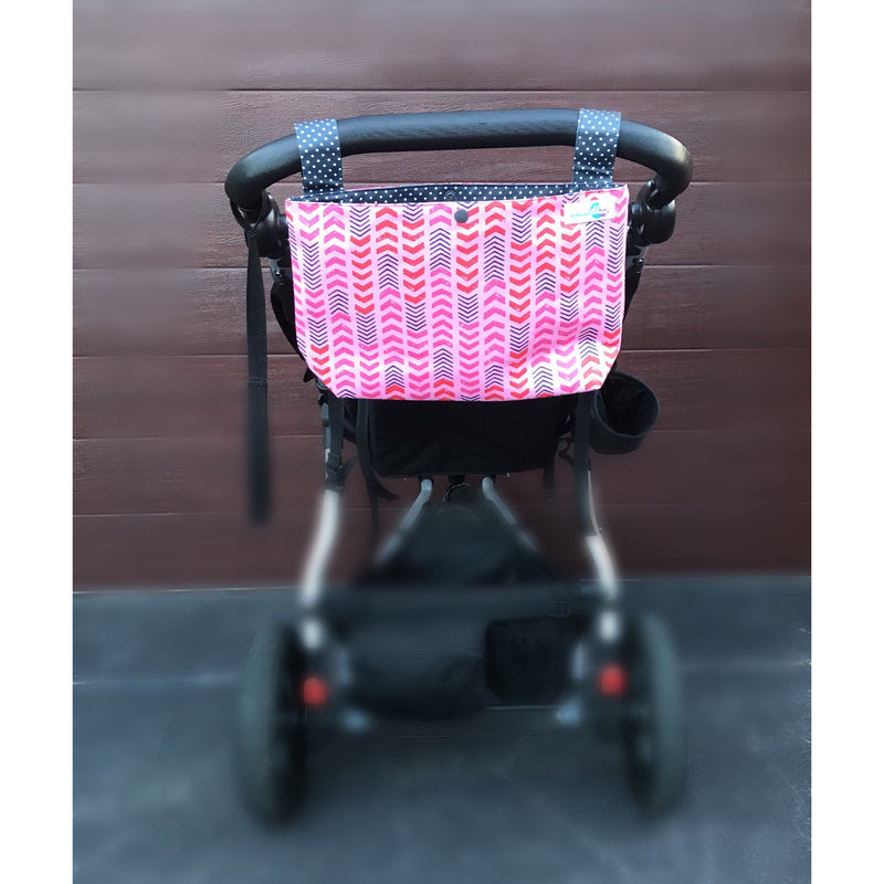 Pram caddy/organizer
