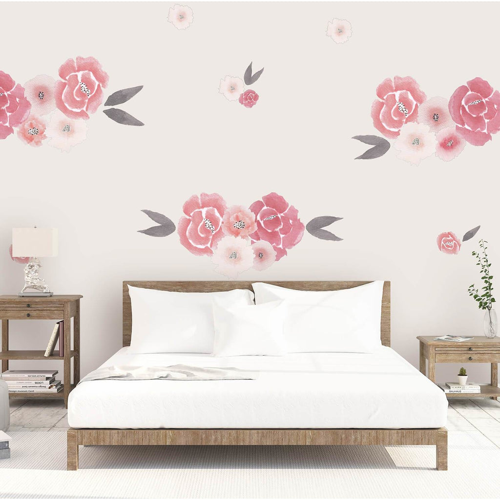 Isla Florals medium full - wall decals