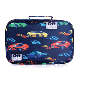 Go green lunch box - Fast Flame Cars