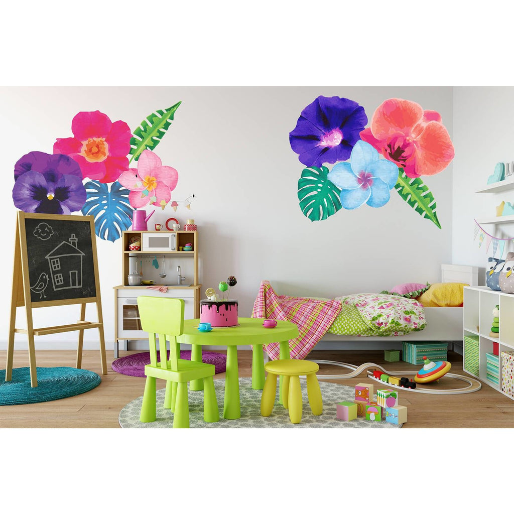 Tropical Paradise giant - wall decals