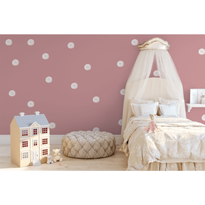 Watercolour bubbles medium - wall decals