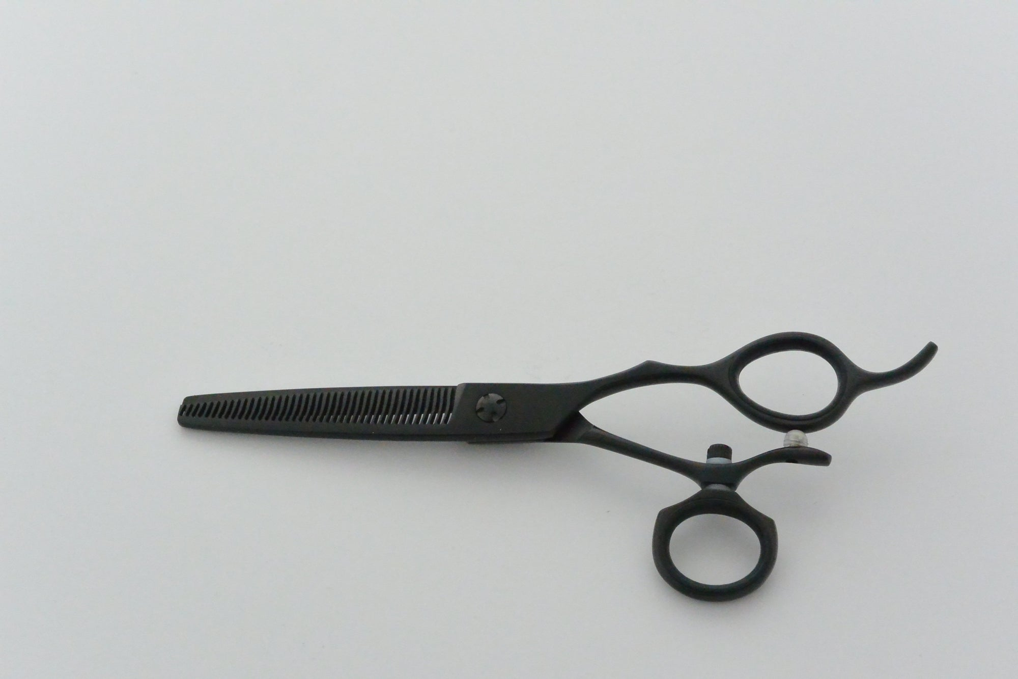 Matte Black Matsui Swivel Thinner - Scissor Tech Canada
