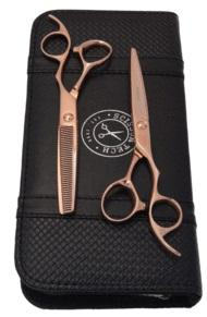 Matsui Rose Gold Offset shears & Thinner Combo