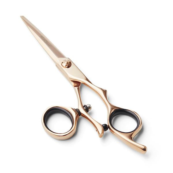 5.5 Inch Cutting Scissor Matsui Rose Gold Swivel 5.5 inch Scissor Thinner Combo - Scissor Tech Canada