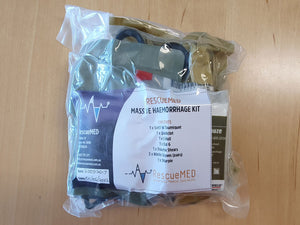 Massive Haemorrhage Kit – with Quickclot