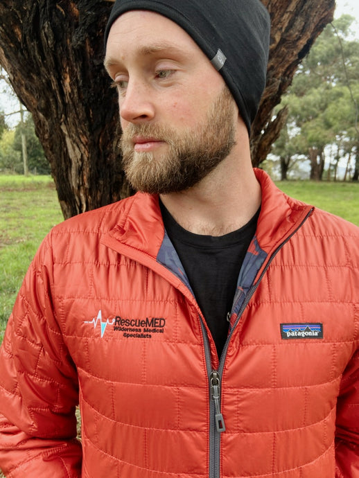 RecueMED Nano Puff Jacket, Roots Red (Patagonia)
