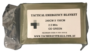 Tactical Emergency blanket - OD Green