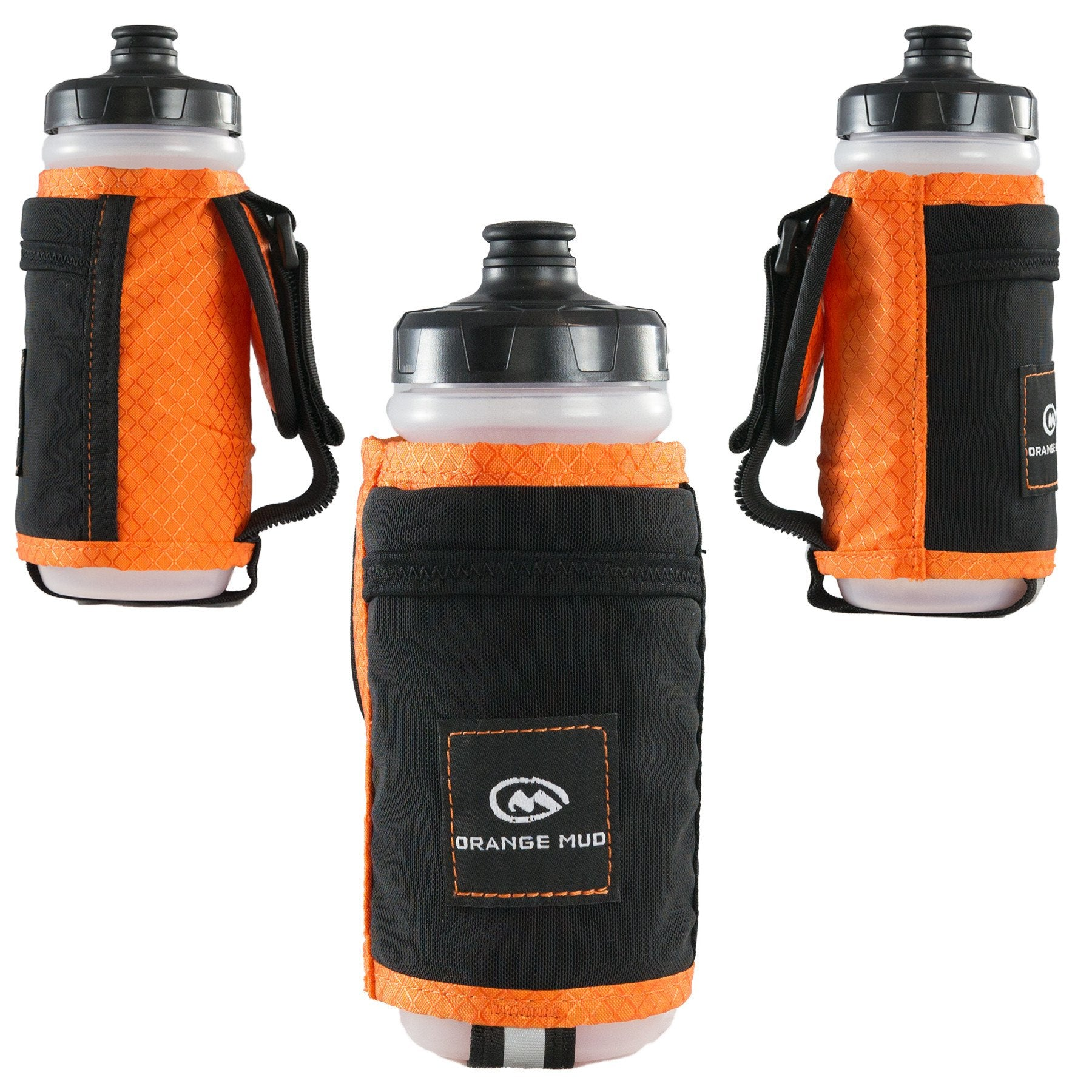 Orange Handheld - Orange Mud - Running Water Bottle