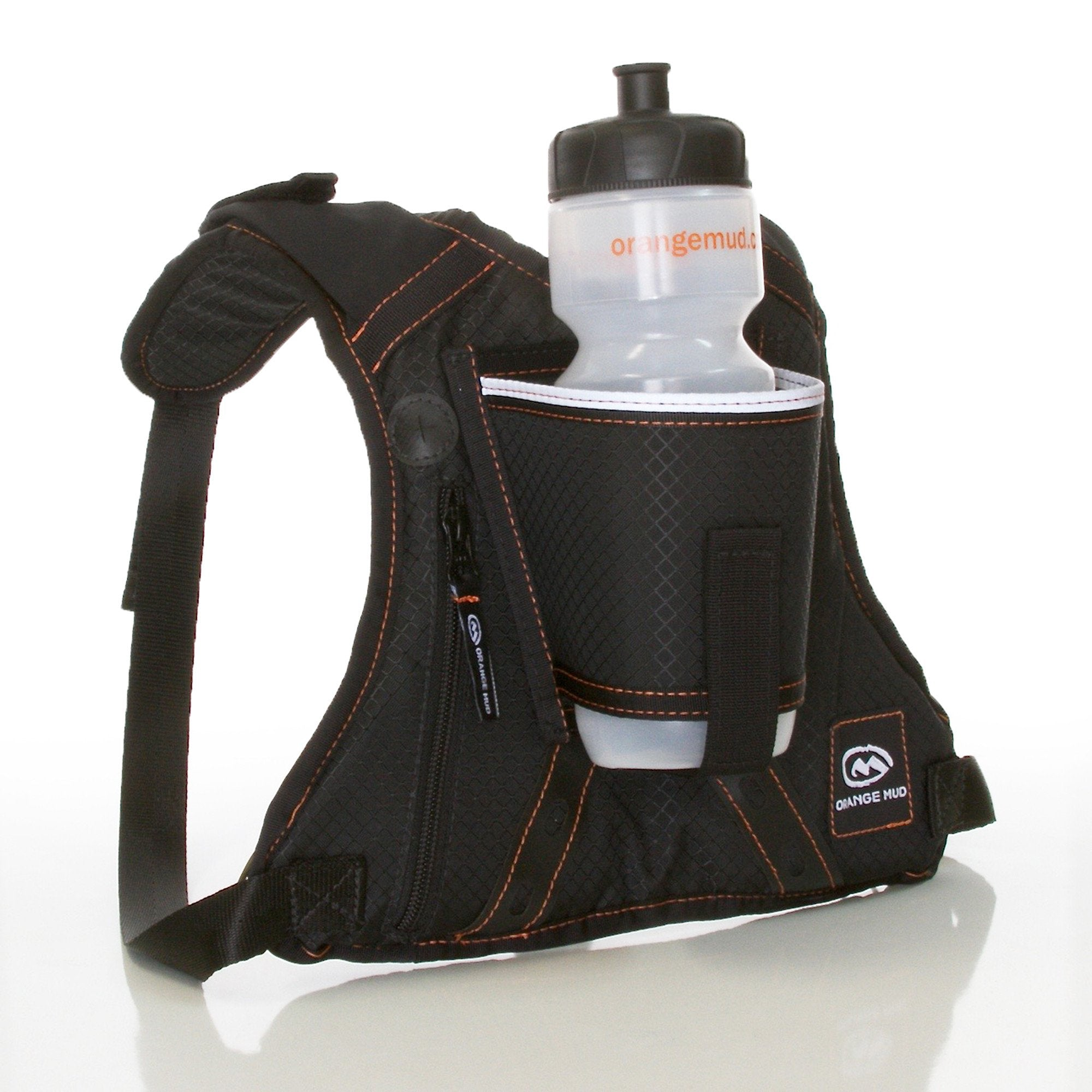 HydraQuiver Hydration Pack, Black, Single Barrel