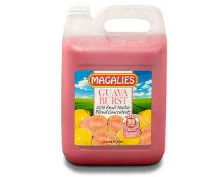Magalies 5 litre Guava Burst 20% 1+5 fruit nectar concentrate